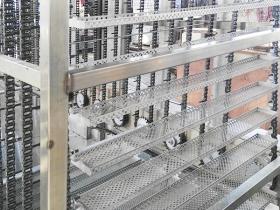 链条连续式干燥设备